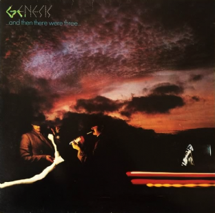 Genesis ‎- ...And Then There Were Three... (LP) (G-/G++)